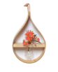 Mega teardrop hanging vase by Stix & Flora, from Concreate
