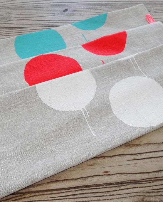 Pure linen tea towels