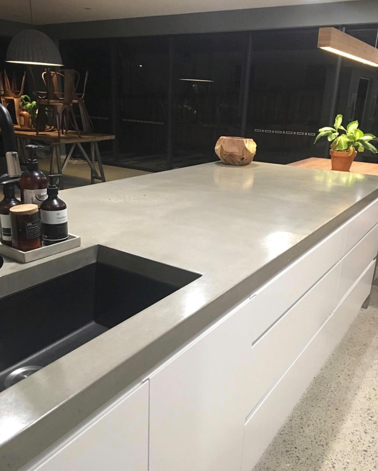 Azure Interiors Concreate concrete benchtop
